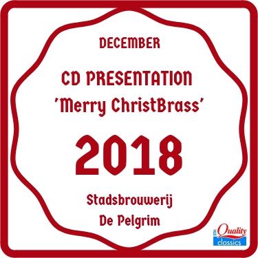 CD Presentation 'Merry ChristBrass'